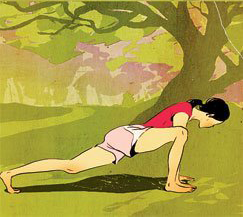 ITBS-Stretch-Lunge