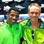 Bruce Fordyce & Haile Gebrselassie