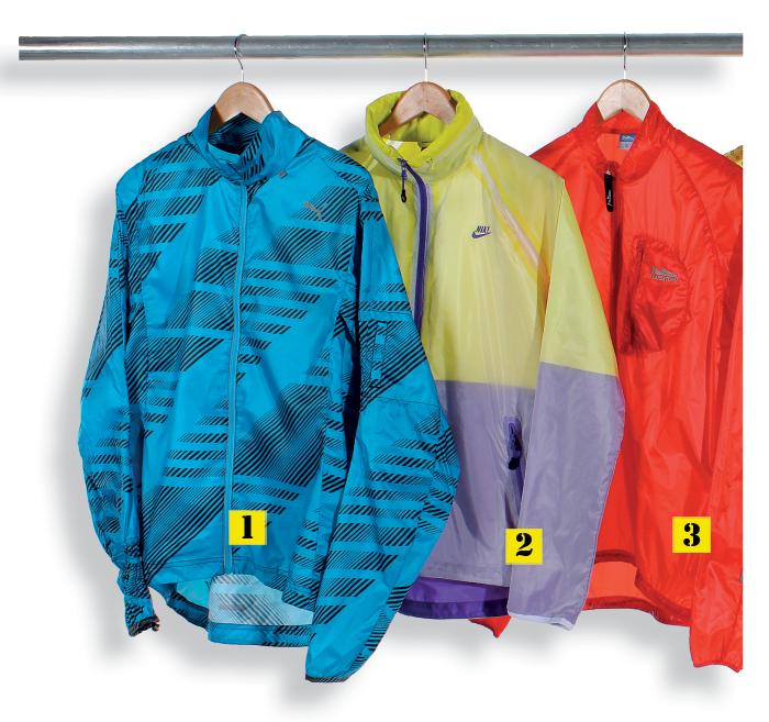 Running rain jackets