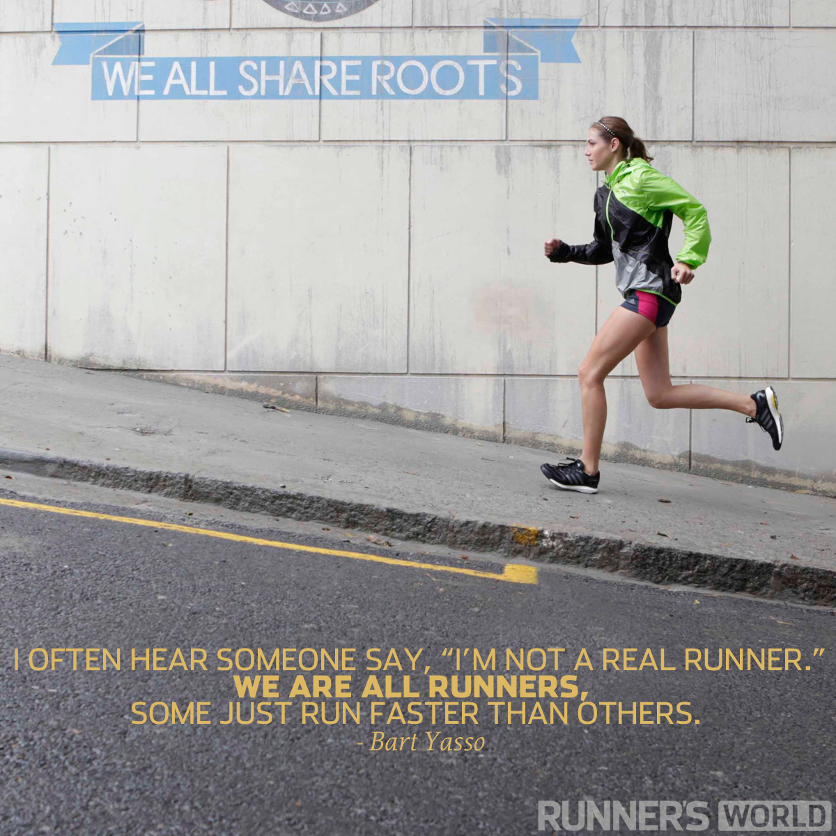 motivational running quote we are all runners runner 39 s