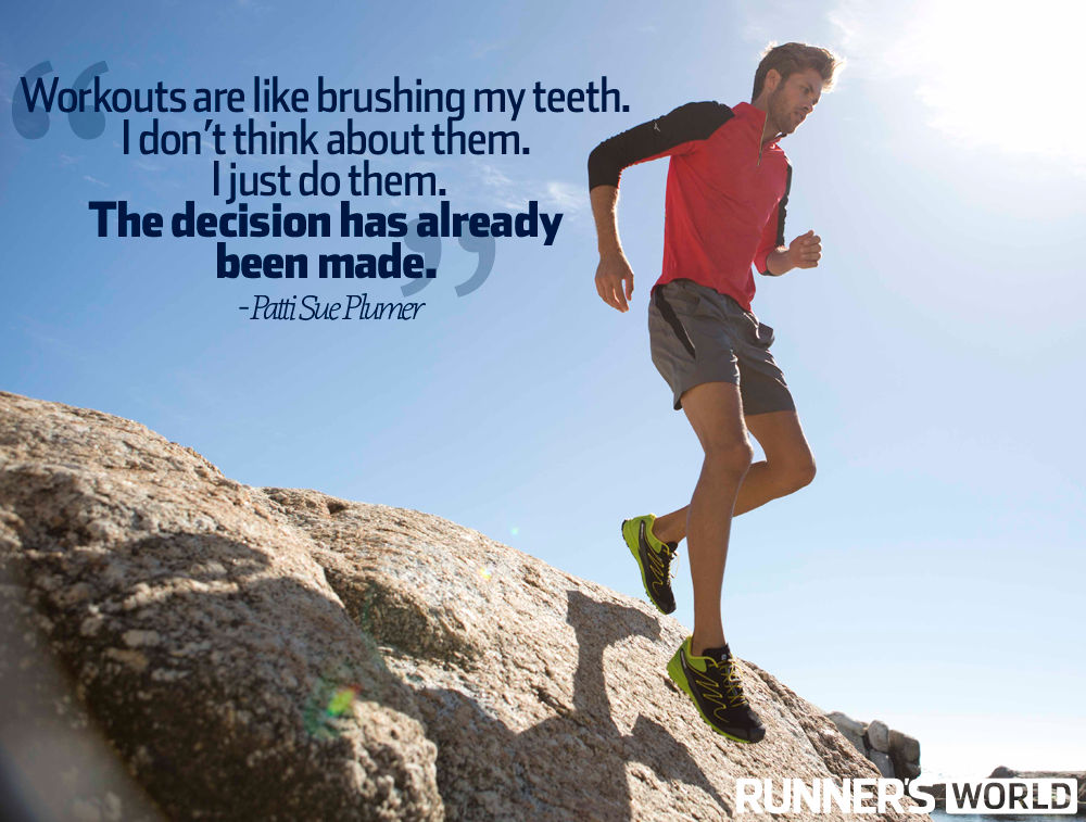 motivational running quote no other option runner 39 s world