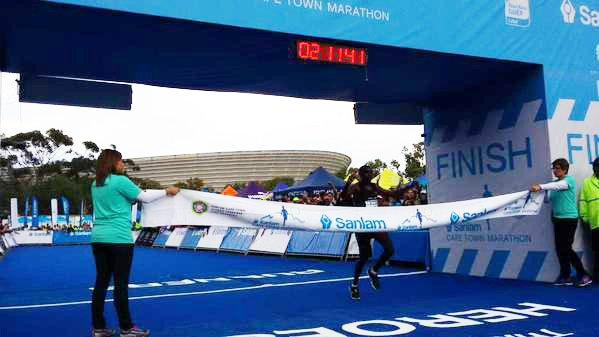 Town table cape Kenyans town  Cape Dominate runners Marathon