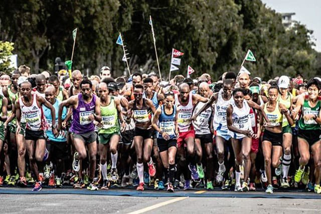 Image from Cape Town Marathon