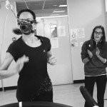 Alana tackling the infamous VO2 Max Test. Image by Oliver Munnik