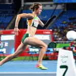 RIO DE JANEIRO, BRAZIL. 14 September 2016. South Africa's Anrune Liebenberg during the 400m final of the Paralympics in Rio de Janeiro today. Liebenberg won silver.  Copyright picture by WESSEL OOSTHUIZEN / SASPA