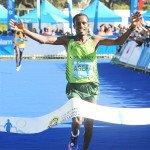 Asefa Negewo, Winner of Sanlam Cape Town Marathon 2016 42.2km Marathon. Image supplied.