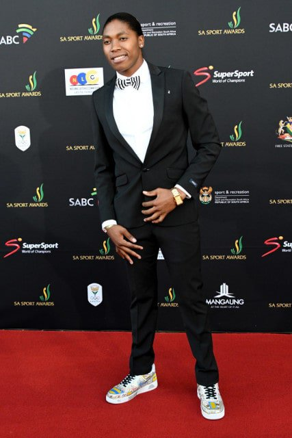 BLOEMFONTEIN, SOUTH AFRICA - NOVEMBER 27: Caster Semenya during the SA Sports Awards at Sand du Plessis Theatre on November 27, 2016 in Bloemfontein, South Africa. (Photo by Wessel Oosthuizen/Gallo Images)