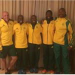Coach John Hamlett and SA's World 100km champs team