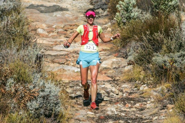 Trail running superstar Landie Greyling is returning to take on the second Tankwa Trail. Photo by Oakpics.com.