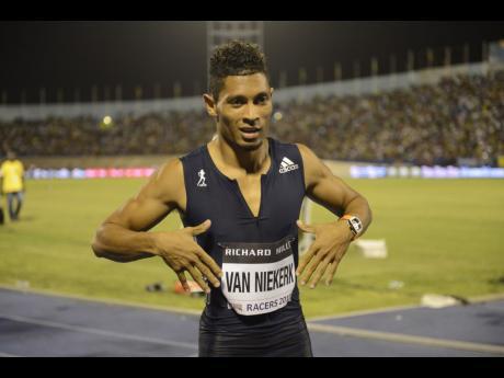 Picture of Van Niekerk courtesy of the Jamaica Gleaner.