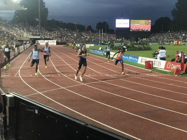 Image from IAAF Diamond League Twitter
