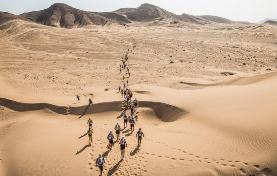 Photograph courtesy of Marathon des Sables