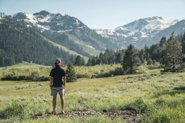 Ryan at the base of Squaw Valley © Dean Leslie/ The Wandering Fever