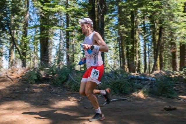Ryan Sandes in Western States 100 © Corinna Halloran/Red Bull Content Pool