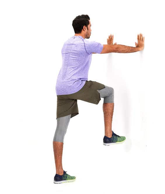 Bent-Knee Forward Swing stretch