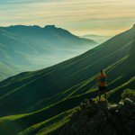 Looking out over Jonkershoek Nature Reserve © Dean Leslie/ Wandering Fever for Red Bull Content Pool.