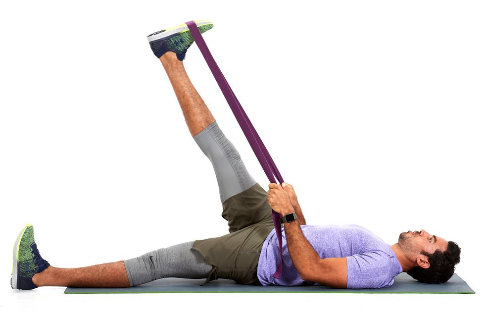 post-run stretches hamstrings